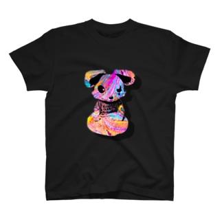 犬の浮遊 T-shirts