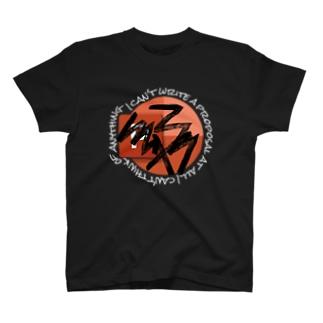 TVmanApparelの企画書全然進まない T-shirts