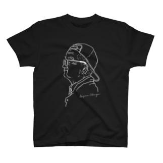 おかじいTEE 001(WH) T-Shirt
