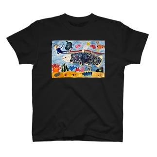 深海魚との出会い T-shirts