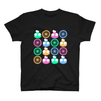 ホイール&そんよん T-shirts