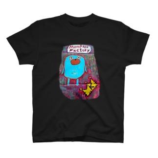 モンスター工場🏭 タイツ T-shirts