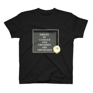 ポメラニアン×SLOGAN T-shirts