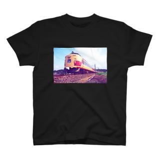 電車雷鳥 Train mania T-shirts