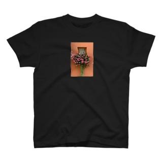 フランス エーグイスハイムの花 T-shirts