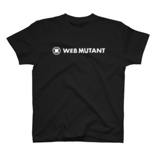 WEB MUTANTロゴTシャツ(文字白) T-shirts