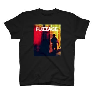 FUZZAGE. No.13 night street T-shirts