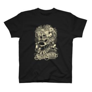 マスカラボタニコTシャツ(イエロー) T-shirts