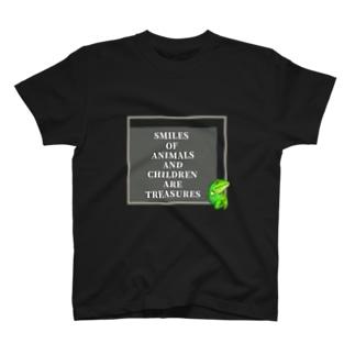 イグアナ×SLOGAN T-shirts