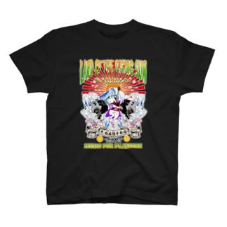 鳥獣ロック ギターラビット T-shirts
