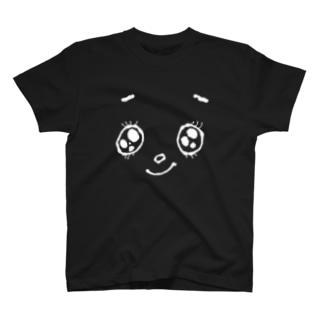 にこにこさん(濃色用) T-shirts