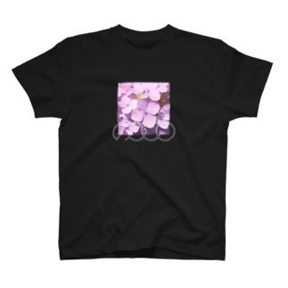 あじさい紫❶ T-shirts