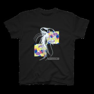 kobayasiraitaのKURAGE  SOMARU(くらげ染まる) T-shirts