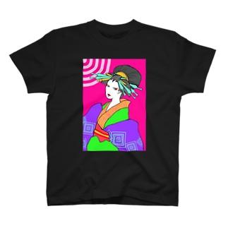 POPおいらん T-shirts