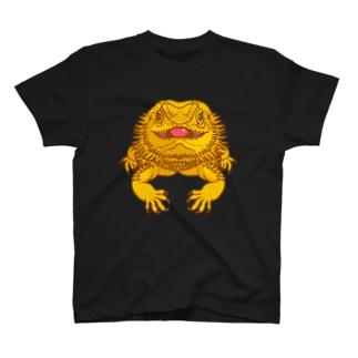 フトアゴイエロー T-shirts