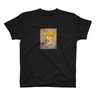 自画像 ゴッホ T-shirts