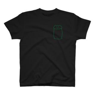 緑のしらくま T-shirts