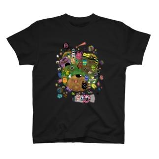 ポラリス color ver. T-shirts