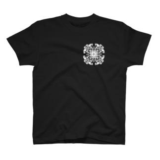クロック(白ver) T-shirts