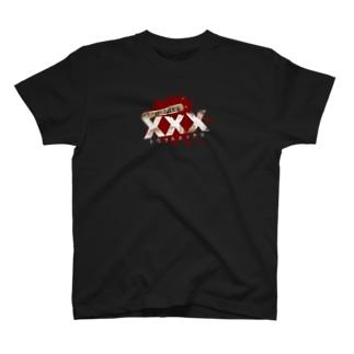 呪われた心霊動画XXXロゴ T-shirts