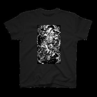 BLACK-UROBOROSのMana following T-shirts
