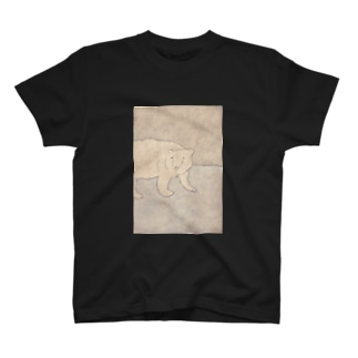 33 STOREのシロクマさん T-shirts