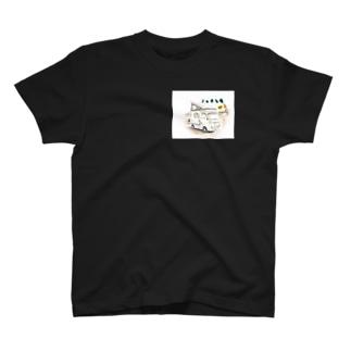 ノッチら号金運オリジナルアイコン T-shirts