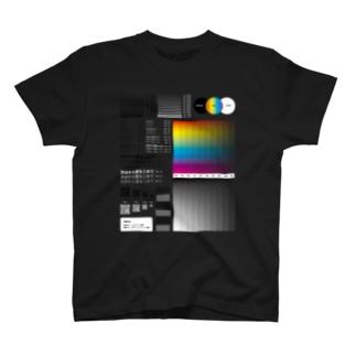 SUZURIのサンプルが手に入るお店のホワイトインクジェット印刷(白インクを使用)によるサンプル T-shirts