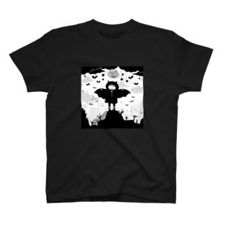 コウモリBOY T-shirts