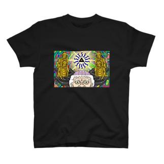 パラノイア大塚のショップのサイケデリックおばあ T-shirts