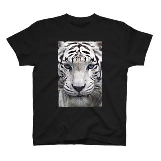ホワイトタイガー T-shirts