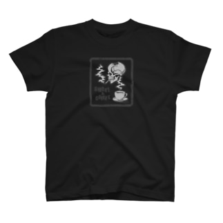 【SMOKE&COFFEE】ブラック T-Shirt