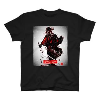 SAMURAI 「雪花ノ想」 T-shirts