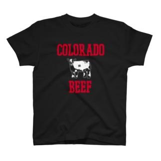 COLORADO BEEF 100% T-shirts