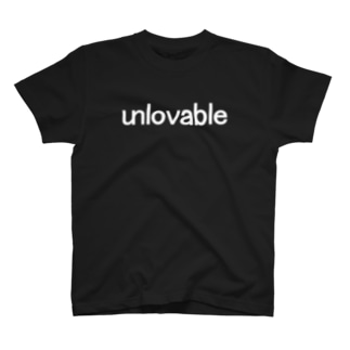 unlovable white T-shirts