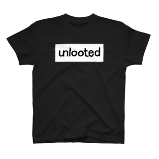 unlooted square T-shirts