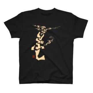 いぶし(白) T-shirts