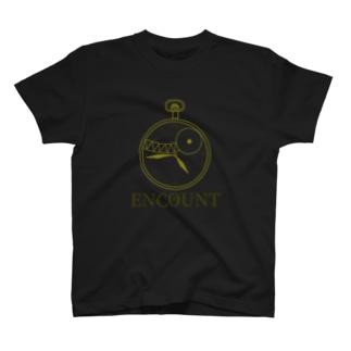 存在しないゲームのロゴTシャツ T-shirts