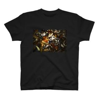 dry leaf2 T-shirts