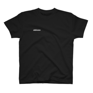 okkaaaの《okkaaa》ロゴ入り「網膜」 T-shirts