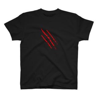 ドット引っ掻き傷  T-shirts