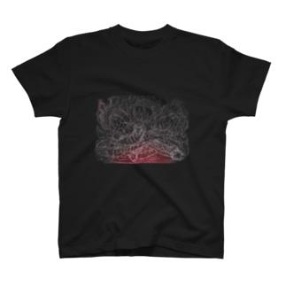王宮ネリエス/朱龍  黒系Tシャツver. T-shirts
