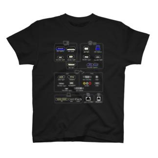 コネクタTシャツ T-Shirt