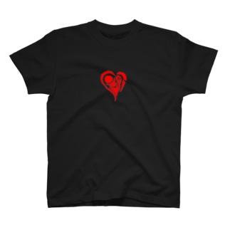 いびつなハート‐れっど T-shirts