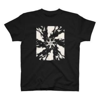 伽藍の夢 透過ver. T-shirts