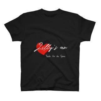 ハート白抜き T-shirts