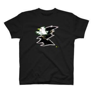 飛び出すピーちゃん! T-shirts