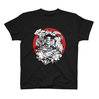 独眼竜の虎退治 T-shirts