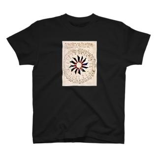 ヴォイニッチ手稿 T-shirts