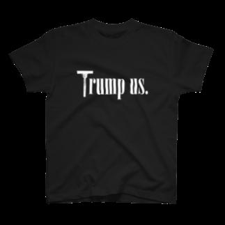 mosmos storeのTrump us. -white- T-shirts